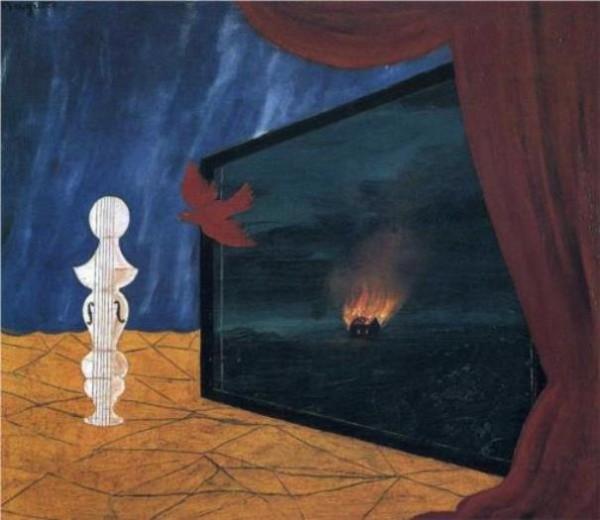 Magritte, Nocturne, 1925