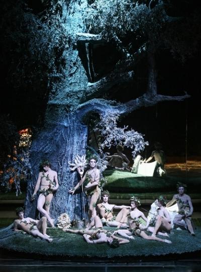 Paisiello, Socrate immaginario, De Simone-Rubertelli-DeVincentis, San Carlo, Napoli 2005