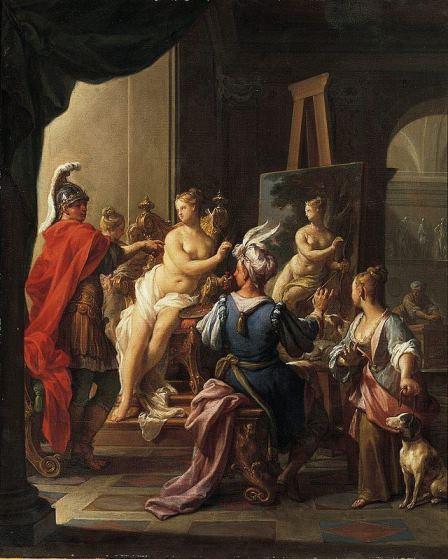 Trevisani, Apelle e Campaspe, 1720