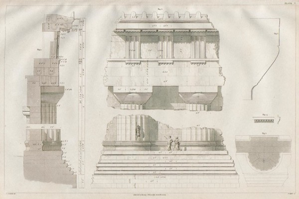 Cockerell, The Temple of Jupiter Olympius at Agrigentum, 1830