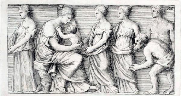 "Winckelmann, da ""Monumenti antichi inediti"""
