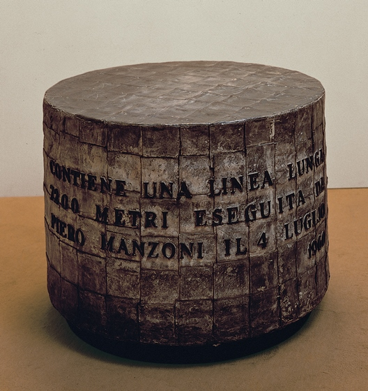 Manzoni, Linea lunga 7200 m, 1960