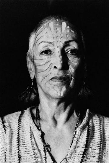 Oppenheim, Porträt mit Tätowierung, 1980