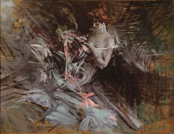 Boldini, Il vestito da ballo, c. 1904