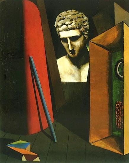 De Chirico, Malinconia ermetica, 1918-1919