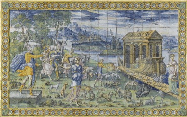 Panneaux du Déluge, particolare, Ecouen, Musée national de la Renaissance