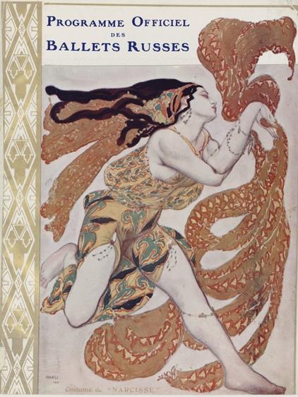 Bakst, Narcisse, 1911