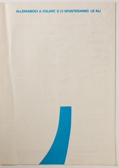 """Vermi, pagina di """"L'Azzurro"""", 1978"""