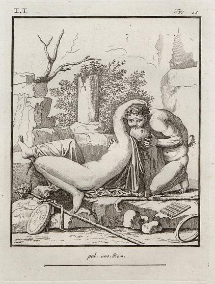 Antiquités d'Herculanum gravées part Th. Piroli et publiées par F. et P. Piranesi, frères, Paris 1804