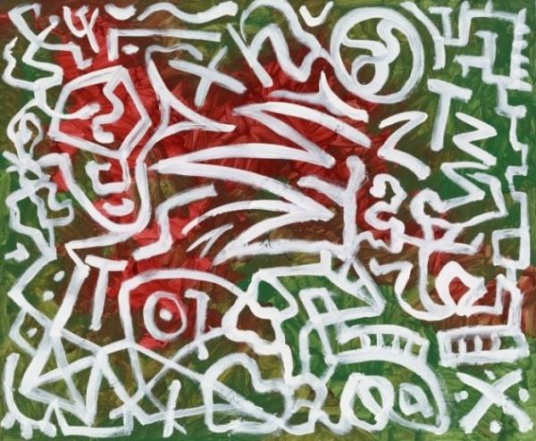 A.R. Penck, Bestimmung ‐ Abstrakt, 2011