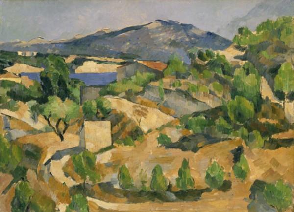 Cézanne, Montagnes en Provence (Le Barrage de François Zola), c. 1879