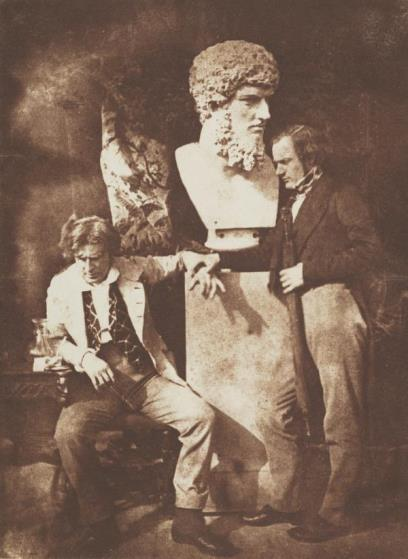 David Octavius Hill and Professor James Miller. Known as The Morning After He greatly daring dined, c. 1845