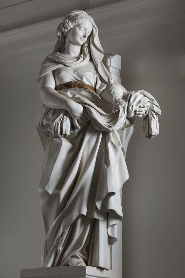 Giacomo Serpotta, La purezza, 1703-1704, ph. S. Scalia