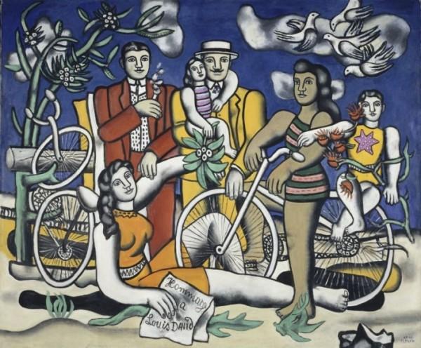 Léger, Les Loisirs. Hommage à Louis David, 1948-1949