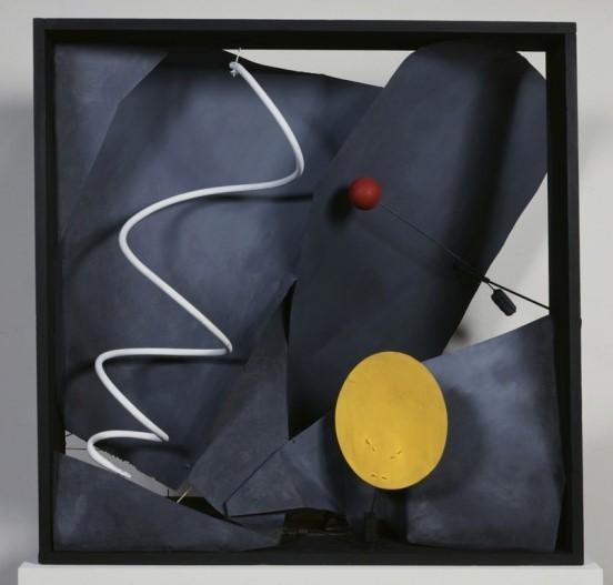 Calder, Black frame, 1934