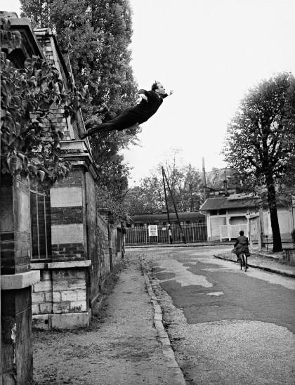 Klein, Saut dans le vide, 1960