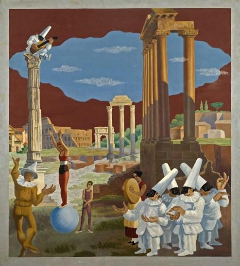 Severini, Maschere e rovine, 1928