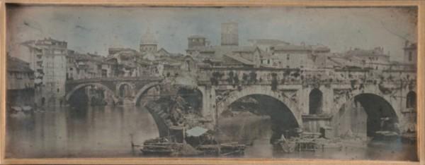 Joseph-Philibert Girault de Prangey, Ponte Rotto, Rome, 1842
