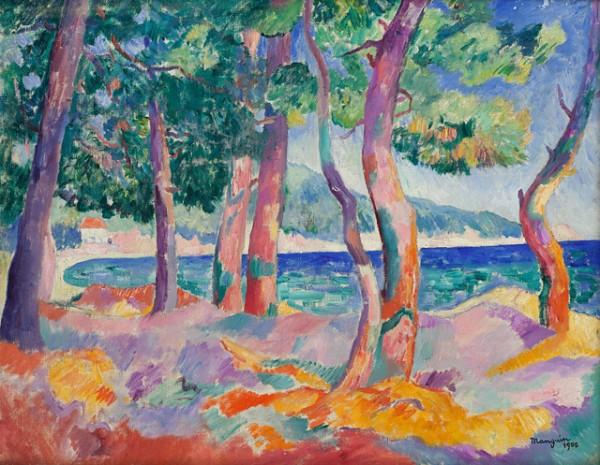 Manguin, Pinède à Cavalière, 1906