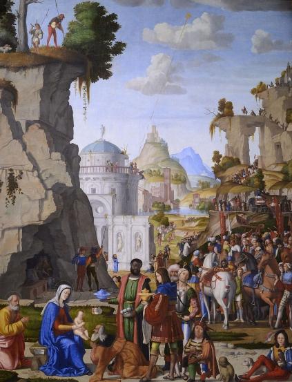 Marcello Fogolino, Adorazione dei Magi,1509-1510