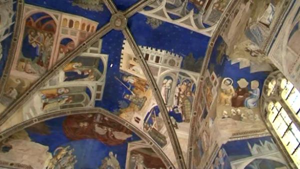 Matteo Giovannetti, cappella di San Marziale, Avignone