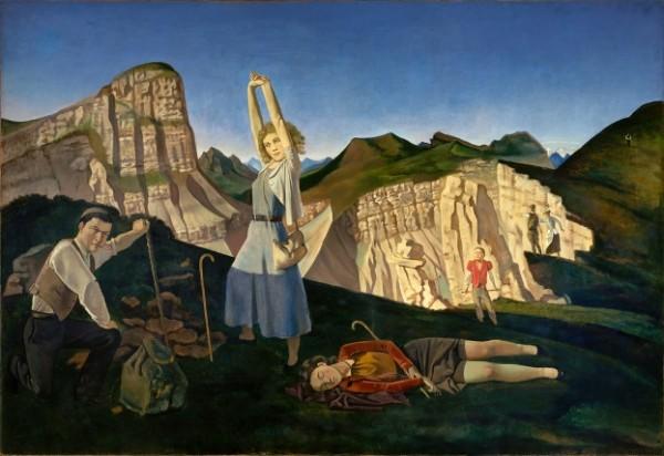 Balthus, La montagne, 1936-1937