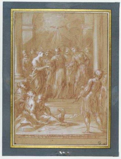 Bartolomeo Biscaino, Le Mariage de la Vierge