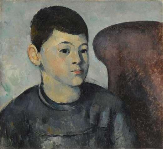 Cézanne, Portrait du fils de l'artiste, 1881-1882