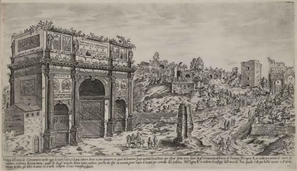 Du Pérac, I vestigi dell'antichità di Roma, 1618