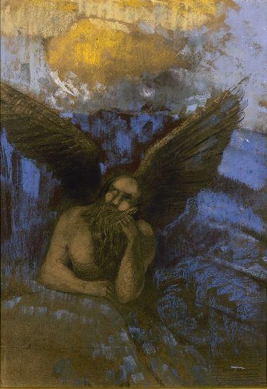 Redon, Vieil ange, 1892-1895