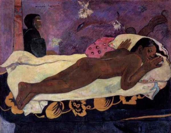 Gauguin, L'esprit veille, 1892