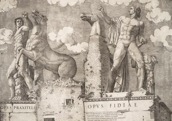 Lafréry, I Dioscuri, 1546