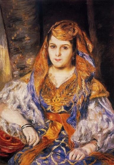 Renoir, Madame Clementine Valensi Stora (L'Algerienne), 1870