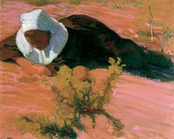 Amiet, Bretonischer Knabe, 1893