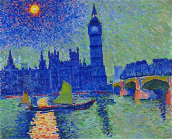 Derain, Big Ben, 1906-1907