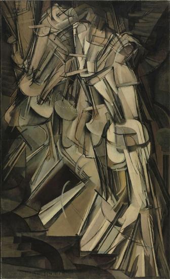 Duchamp, Nu descendant un escalier no 2, 1912