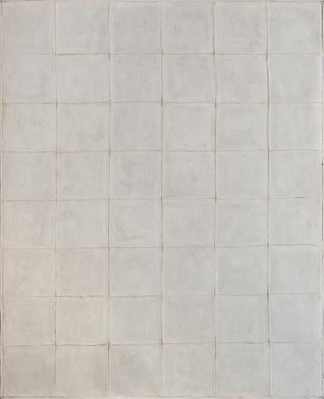Manzoni, Achrome, 1959-60, tela cucita e caolino, 160 × 130 cm