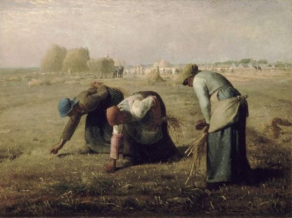 Jean-François Millet, Des Glaneuses, 1857