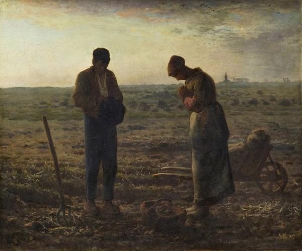 Jean-François Millet, L'Angélus, 1857-1859