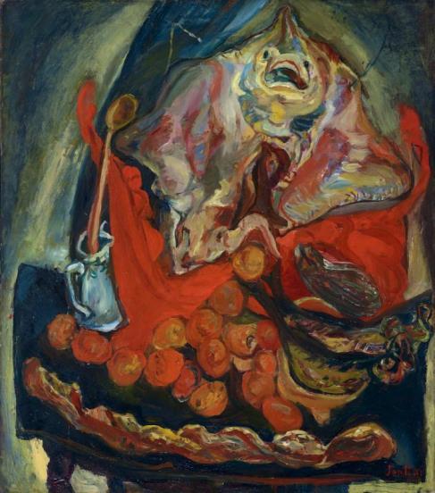 Soutine, Nature morte à la raie, 1923-1924
