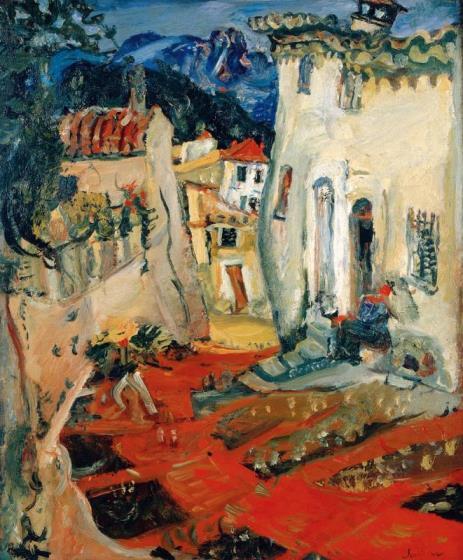 Soutine, Roue à Cagnes. 1924