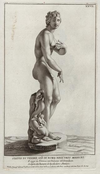 Raccolta di statue antiche e moderne, XXVII