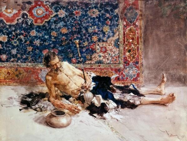 Fortuny, Il fumatore di oppio, 1869