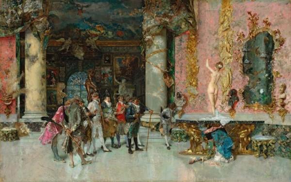 Fortuny, La scelta del modello, c. 1868-1874