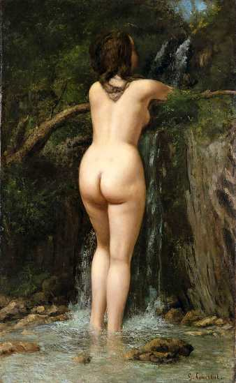 Gustave Courbet, La Source, 1862