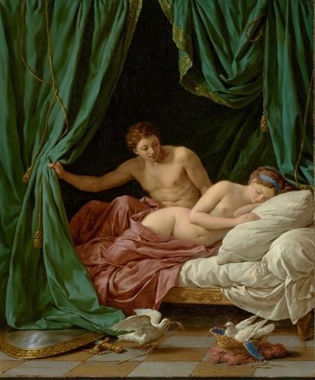 Lagrenée, Mars et Vénus, Allégorie de la Paix, 1770