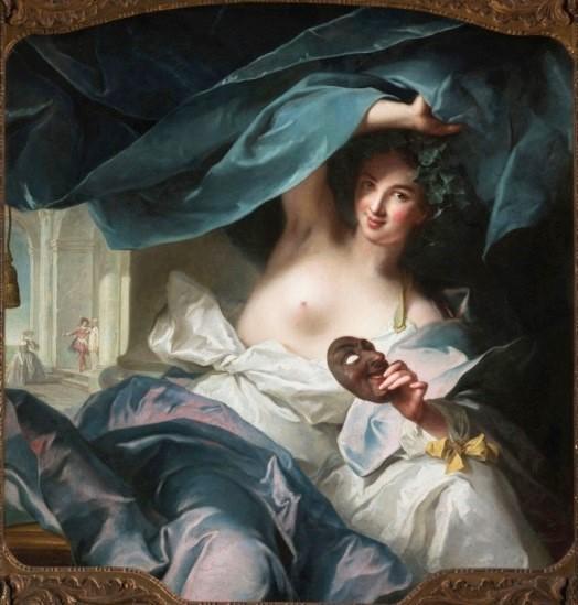 Nattier , Thalia, Muse de la Comédie, 1739