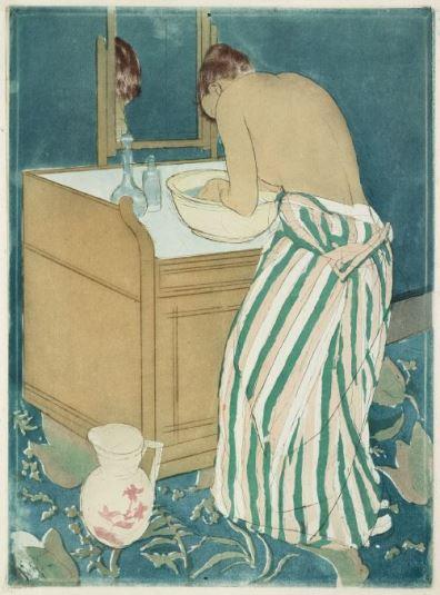 Cassatt, La toilette, 1890-1891