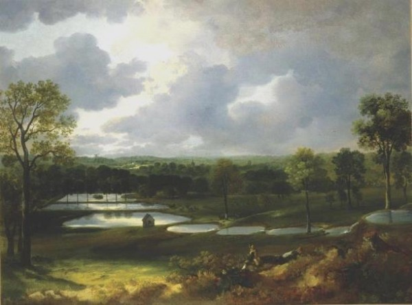 Gainsborough, Holywells Park, c. 1748–1750