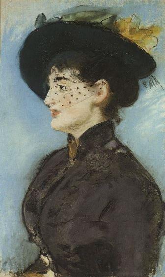 Manet, La Viennoise Irma Brunner, c. 1881